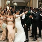 Watch This Major Epic Ghanian Bride & Her Bridesmaid Wedding Dance!
