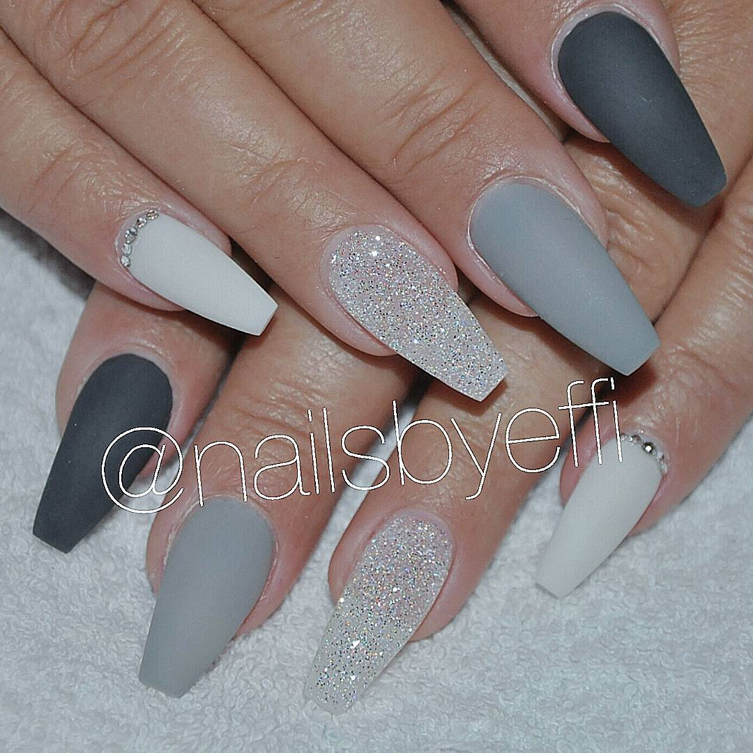Matte Nude Acrylic Nails  LongHairPrettyNails