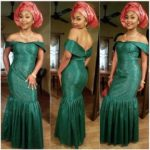 Asoebi Styles #109: Off-the-shoulder Styles To See!