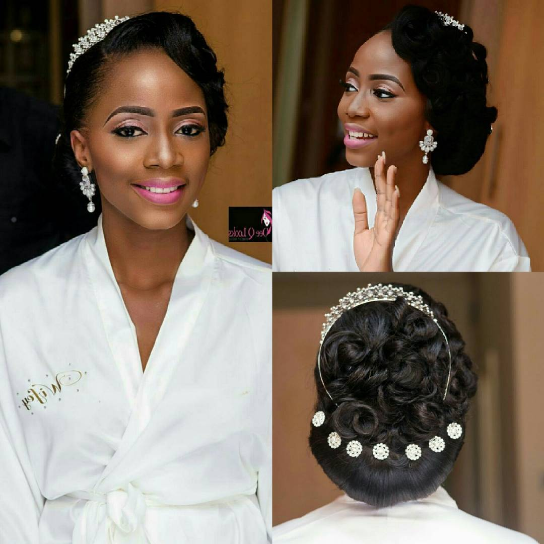16 gorgeous wedding hairstyles for nigerian brides by hair stylist