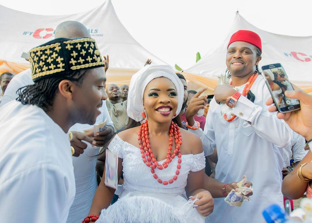 exclusive images laura ikejinwankwos traditional igbo