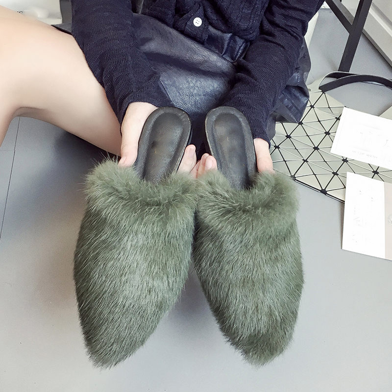 fashion-women-natural-real-rabbit-fur-slides-slippers-soft-furry-flat-heel-platform-flip-flops-sandals