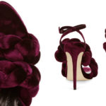 Shoe Crush Of The Day: Marco de vincenzo Woven Velvet shoes