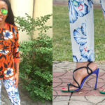 Look Of The Day: When Mixing Prints Looks Right With Derin Odugbesan