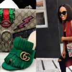 Splurge: OAP Toke Makinwa Stepped Out In A Matching Gucci Bag And Shoe…Your Thoughts?