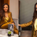 Look Of The Day: Toke Makinwa 'The Golden Girl'