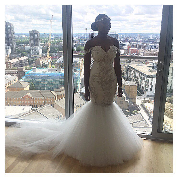 Check Out Cassandra Hollywood Glamour Wedding Dress By AloNuko Below