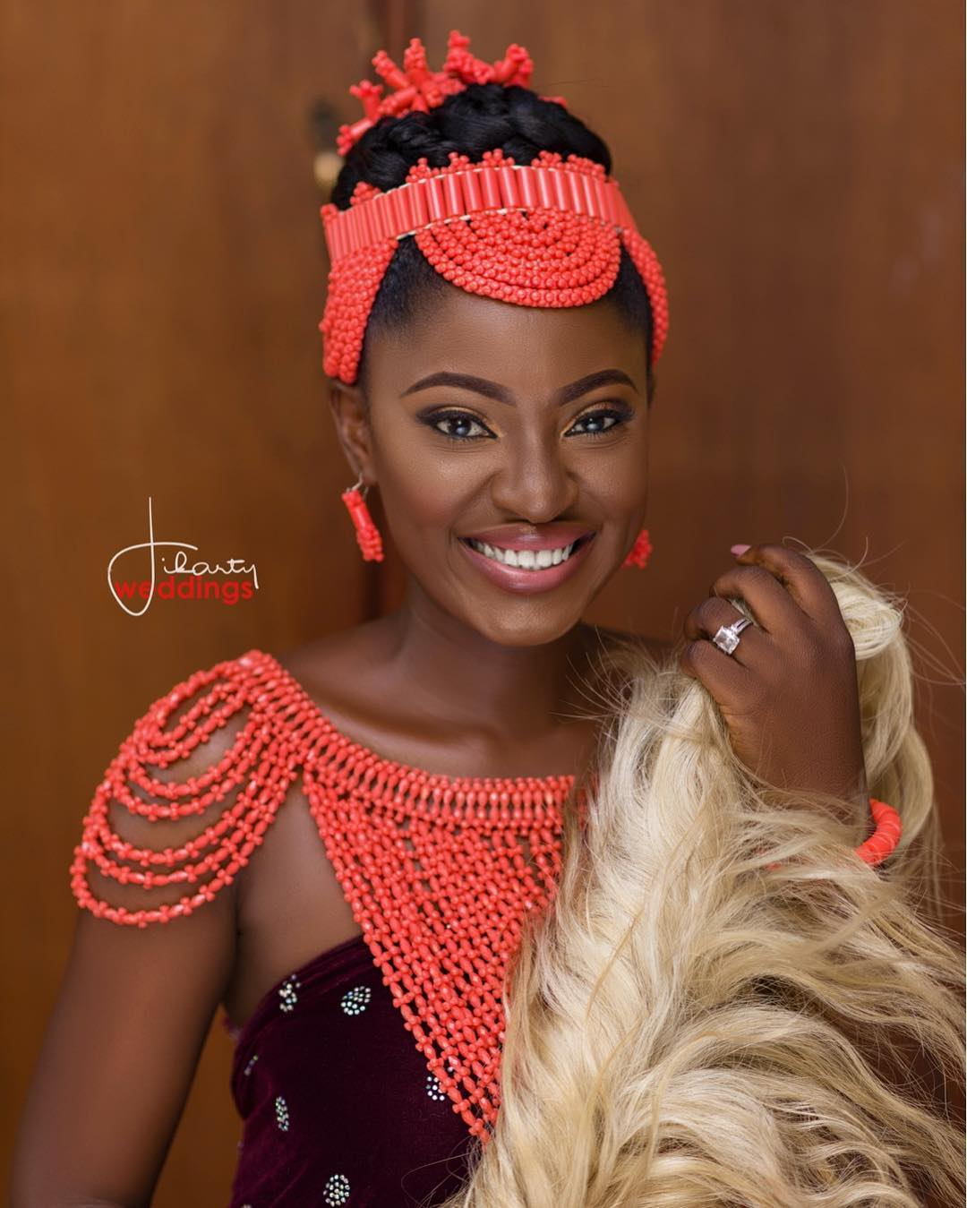 quotthe real african queenquot yvonne jegede traditional edo