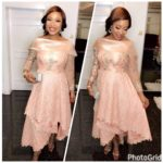 See Nollywood Beauty Tonto Dikeh Giving Off Wedding Glam Vibe!