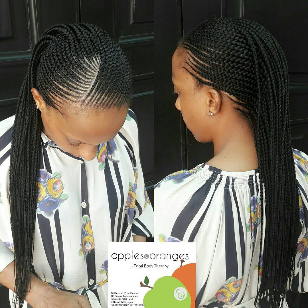 Latest Ghana Braids Hairstyles 2017 Hairstyles