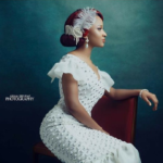 Wedding Glam: Adesua Etomi Wearing British-Nigerian Designer Ferona!