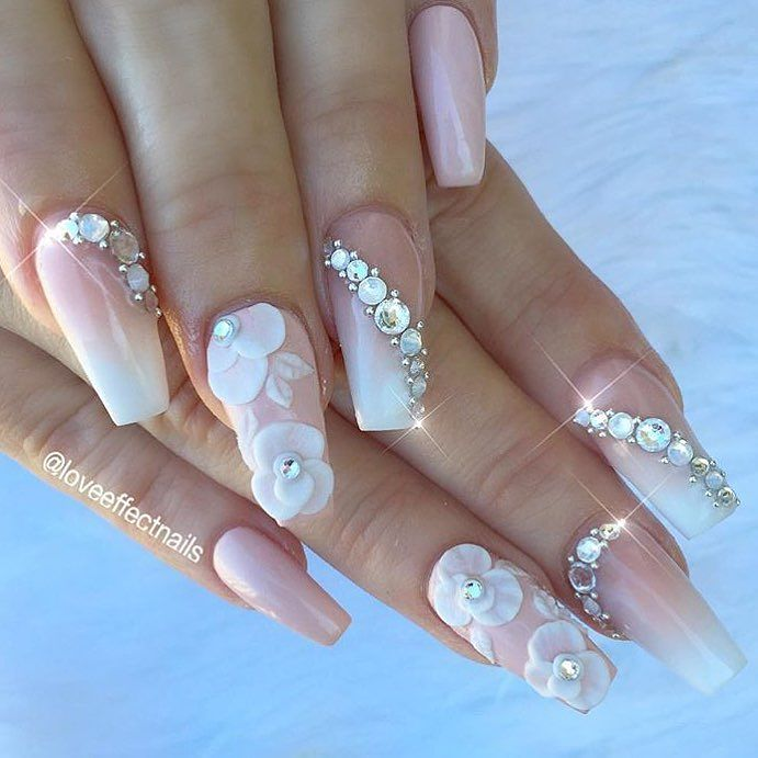Dynamic Views Very Beautiful And Preity Nails Art Red: 17 Gorgeous Wedding Nails Art Perfect For The Big Day