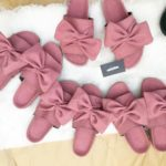 Gafa Footwear Pink Bow Slides Is Just Perfect For The Weekend