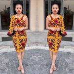 How About Going Edgy With Your Ankara Outfits?