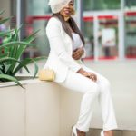 Wedding Glam: All White Wedding Guest Outfit Inspo On Fashion Influencer Karen Kane!