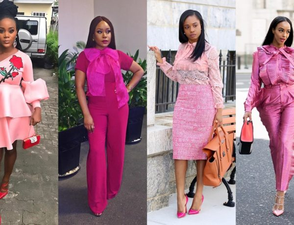 A Quick Guide To Wearing Pink Featuring Mimi Onalaja, PrissySavvy
