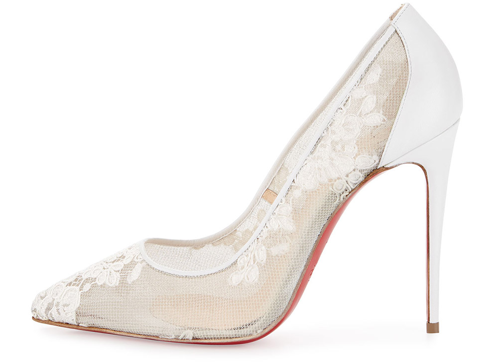 wedding shoes for bride christian louboutin