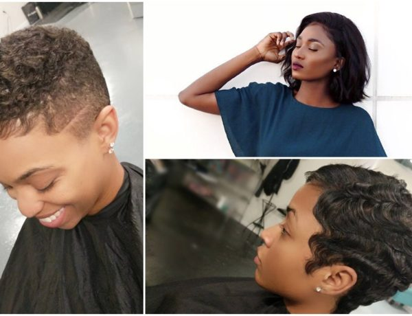 Header of short hairstyles to do