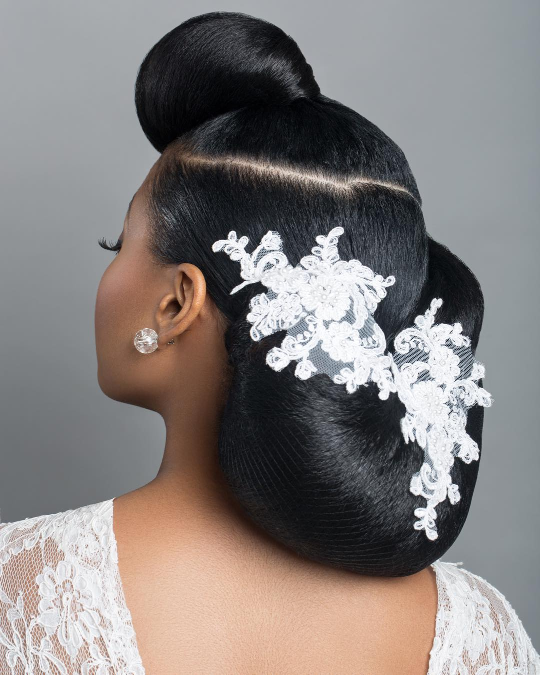 Elegant Hairstyles For Nigerian Brides: Bridal Inspiration: These Bridal Updos Are The Real Deal