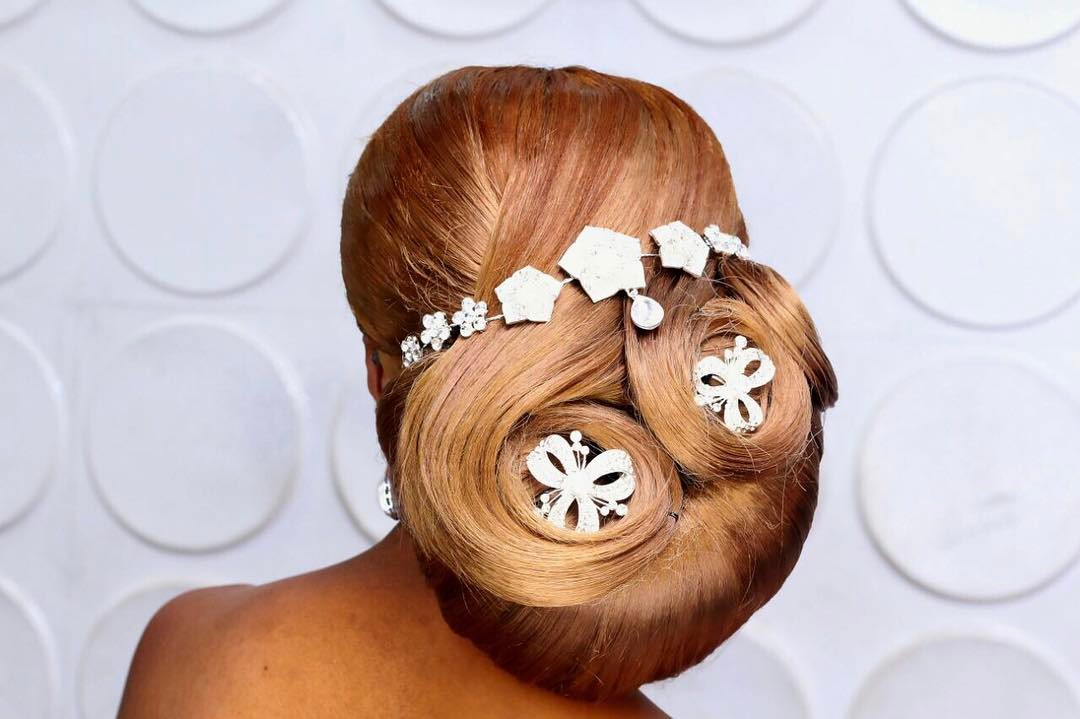 bridal updo hair by sleame4