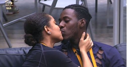 Gifty and Soma kissing