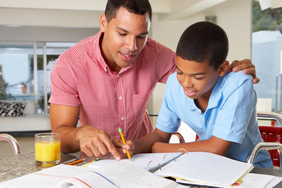 Help kids concentrate homework