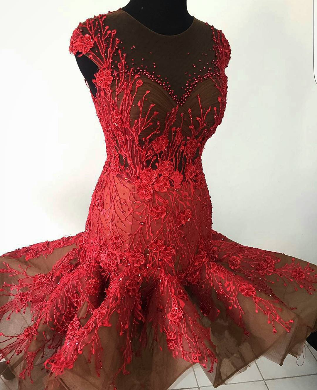 reception dress