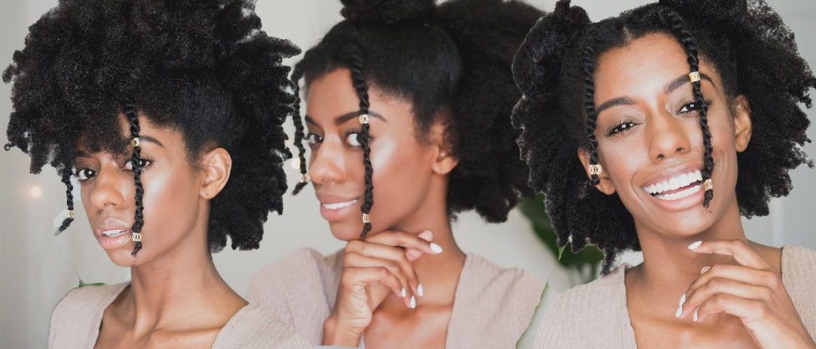 3 easy hairstyles for 4c Natural Hair