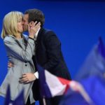 Meet Brigitte Macron, The 64 Year Old Wife Of The 39 Year Old President Elect Of France
