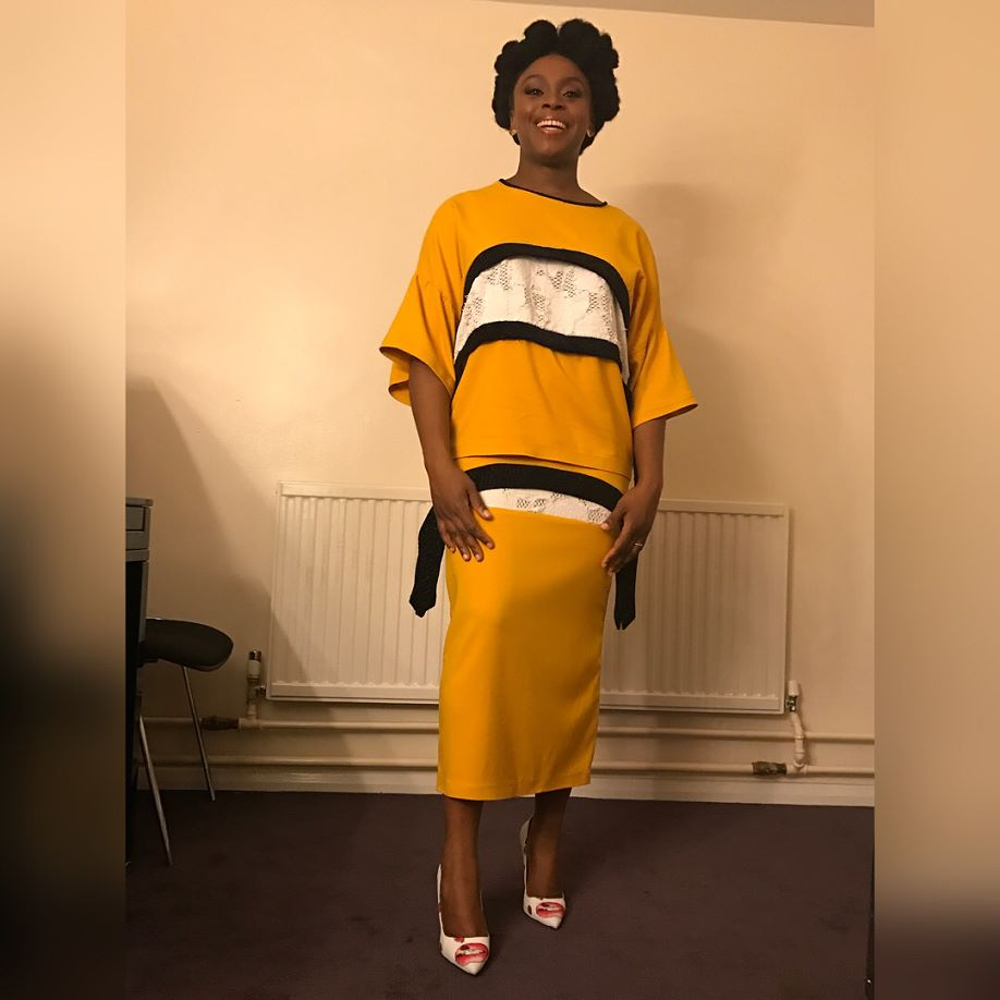 Image result for chimamanda adichie wearing nigerian designers