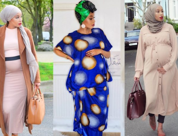 Header of Hijab Maternity Style