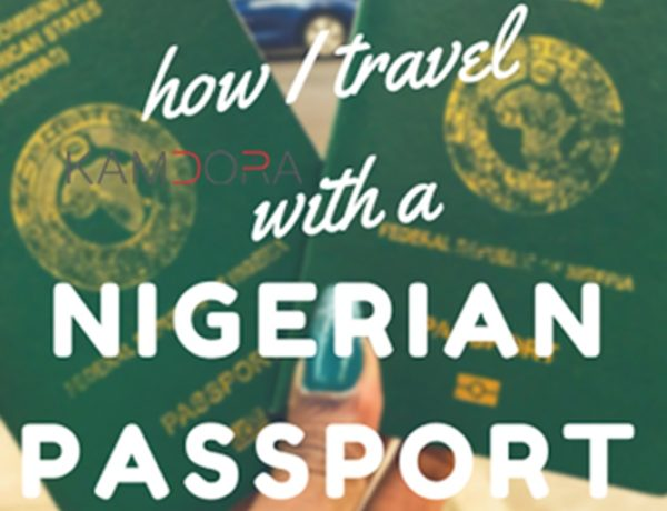 Header of Nigerian Passport