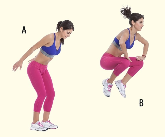 Legs and thighs exercises 3