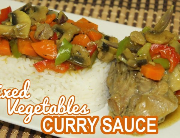 Mixed Vegetables Curry Sauce by All Nigerian Recipes
