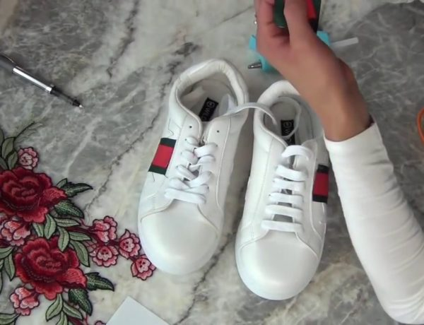 #diy gUCCI sNEAKERS BY CASSY CALIFORNIA
