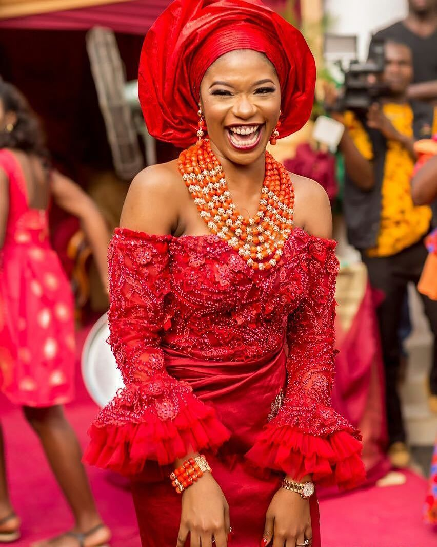 Igbo Nigerian Wedding: See What Igbo Brides Are Wearing These Days