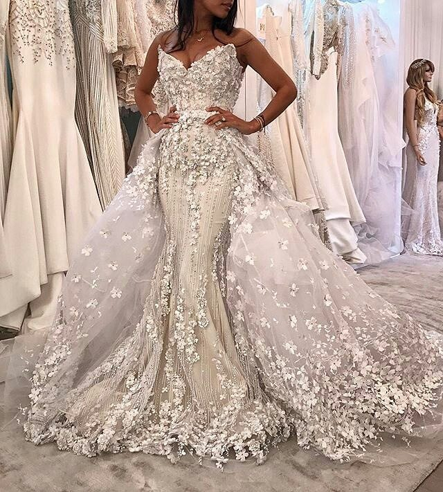 overskirt - Bridal Overskirts Are The Latest Bridal Trend Now