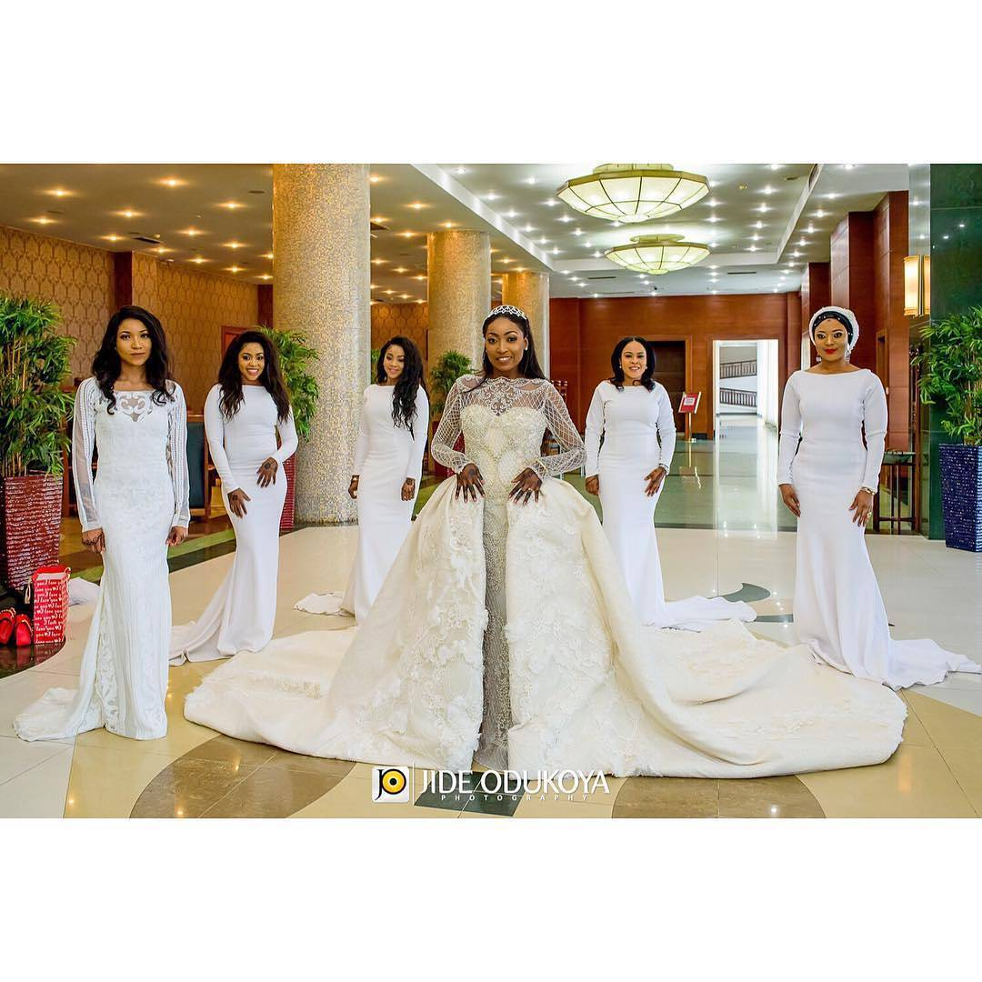 overskirt7 - Bridal Overskirts Are The Latest Bridal Trend Now