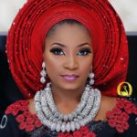 Nothing Makes A Statement At Weddings Like A Red Gele!!!