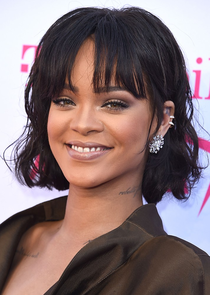 Rihanna Inspired Haircut