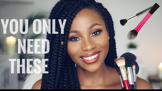 Makeup Brushes that you need by Dimma Umeh