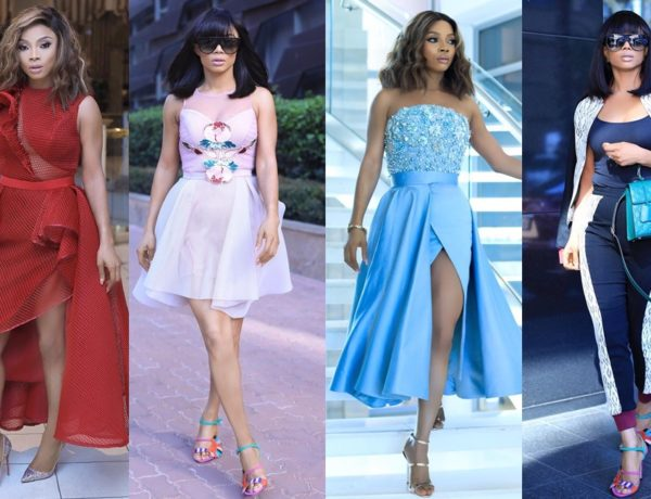 Toke Makinwa In South Africa header