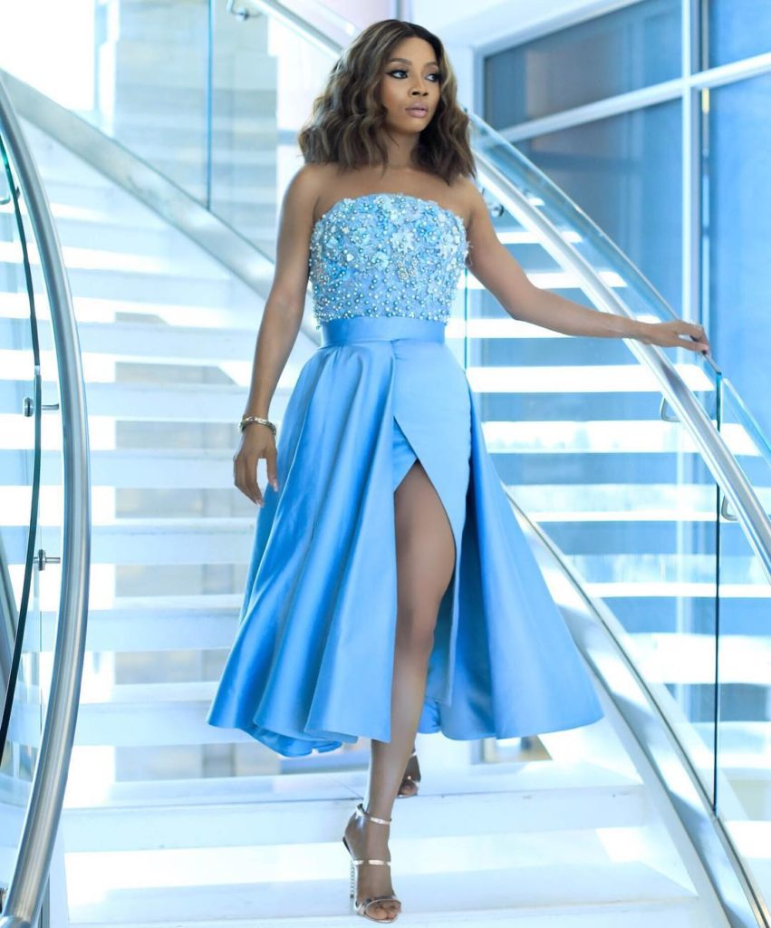 Toke Makinwa South Africa Style 17