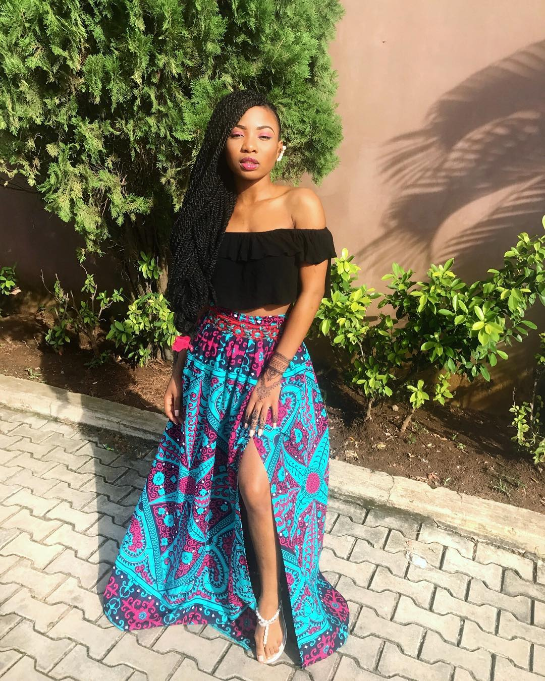 mo cheddah2 - Mo Cheddah Shows Us The Right Way To Wear Print
