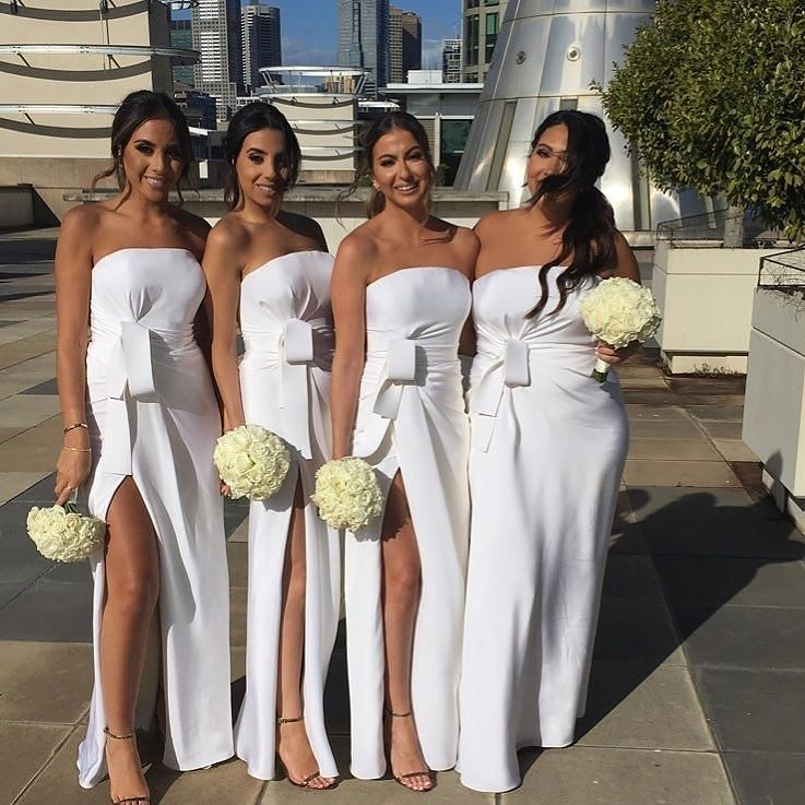 Would you allow your bridesmaids wear white on your wedding day would you allow your bridesmaids or even your guests to wear white on your wedding day share your thoughts on this trend junglespirit Image collections