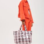 "Accessories: Would You Rock The ""Marty Check -Ghana-Must-Go Tote Bag"" For £22.00?"
