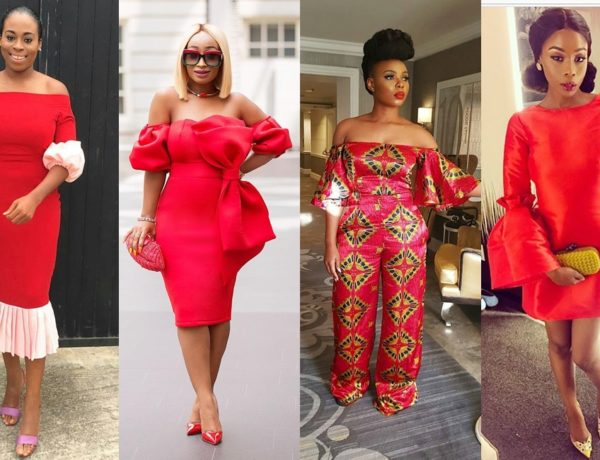 How to wear color red header