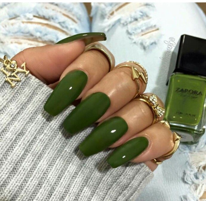 Mondays Are For Manicures Go Green Kamdora