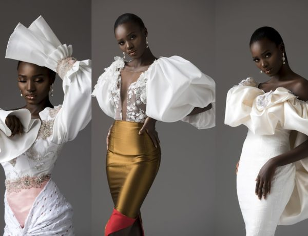 tubo her form bridal collection header featuring funke williams