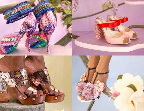 Header of Sophia Webster shoe 2018 collection